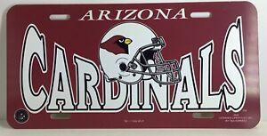Arizona License NFL Football Premium License Plate Licensed Product