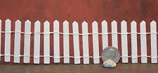 Dollhouse Miniature Picket Fence 1:12 inch scale F1 Dollys Gallery 18 in long