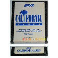 CALIFORNIA GAMES Atari Vcs 2600 »»»»» CARTUCCIA
