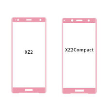 3D edge Full Cover Tempered Glass Screen Protector For Sony Xperia XZ2 Compact