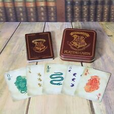 Official Harry Potter Hogwarts Playing Cards Tin 52 Card Deck