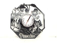 Pinocchio Clock Decor Wall Art Christmas Gifts