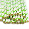 25X Colourful Paper Drinking Straws Straw Retro Vintage Striped Party Wedding