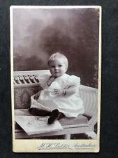 Victorian Carte De Visite CDV: Amsterdam: Baby Silver Bracelets