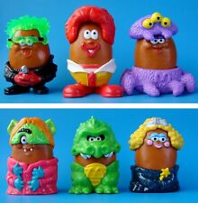 MCDONALD'S 1996 HALLOWEEN MCNUGGET BUDDIES COMPLETE SET OF 6 HAPPY MEAL TOYS
