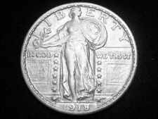 1918-D Standing Liberty Quarter --- Almost Uncirculated +++