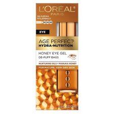 Loreal Paris Age Perfect Hydra Nutrition Honey Eye Gel De-Puff Bags-0.5oz
