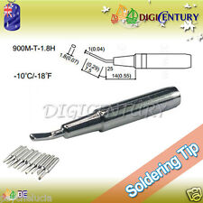 High Quality Soldering Iron Tips Real Lead Free 900M-T-1.8H Sliver