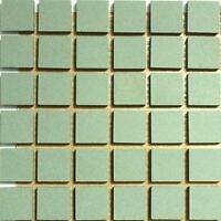 81 Small Mosaic Tile Sheet Sunflower Ceramic Glazed Tessera