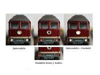 S532 Umbauset für H0 Märklin + Trix Loks BR 232 132 234 Adapter Beleuchtung ESU