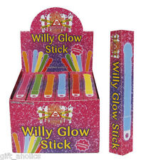 WILLY GLOW STICKS Various Colours Hen Party Novelty - £2.95 MAX SHIPPING