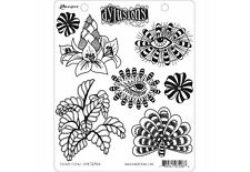 Dylusions FOLIAGE FILLERS Cling Mount Rubber Stamps Set by Dyan Reaveley