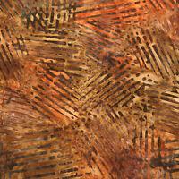 Robert Kaufman Batik Fabric, AMD-19772-196 HARVEST, By The Half Yard, Quilting