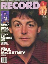 PAUL McCARTNEY ~~ Record Magazine ~ September 1984 ~ 9/84 ~ PRINCE ~~  D-2-2