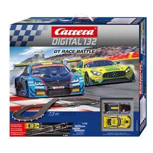 CARRERA DIGITAL 132 AUTORENNBAHN GT RACE BATTLE 30011 AUTO-RENNBAHN