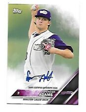 SPENCER ADAMS 2016 TOPPS PRO DEBUT ROOKIE AUTOGRAPH #24  FREE COMBINED S/H