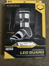 Evoshield Adult Mlb Batter's Leg Guard Baseball Protection Black
