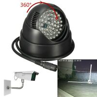 48 LED Illuminator Light Lamp IR Infrared Night Vision For CCTV Camera 360°   Q