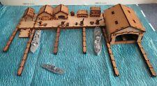 Cruel Seas 6mm Port MTB Pens Dry Dock Slip Way Warehouse Crane completely modul