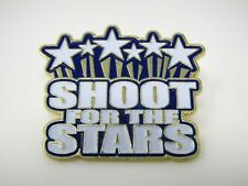 Vintage Collectible Pin: Shoot for the Stars
