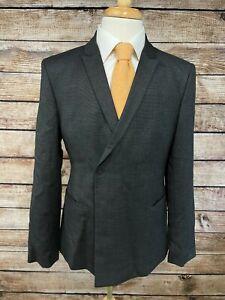 NWT Emporio Armani Wool Suit 40R (Pants 35) Gray