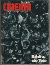 NEW CINEMA # 10/1971  eva czemerys marisa mell jane fonda vicki carbe the tits