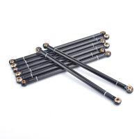 Aluminum Alloy Link Rod 313MM Wheelbase for 1/10 RC Car Crawler Axial SCX10
