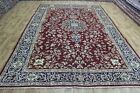 OLD HANDMAE PERSIAN CARPET WITH FINE FLORAL DESIGN 370 x 240 CM