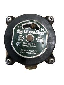 "Leonard Valve Co. Model 210 Thermostatic Mixing Valve 1/2"""