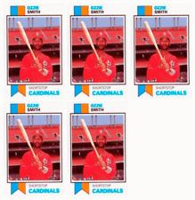 (5) 1993 SCD #3 Ozzie Smith Baseball Card Lot St. Louis Cardinals