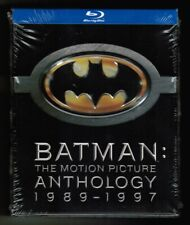 BATMAN / THE MOTION PICTURE ANTHOLOGY 1989-1997 [4 x Blu-ray, 2009] NEW! 4 films