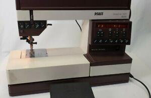 Pfaff Creative 1471 Domestic computerised embroidery sewing Machine west Germany