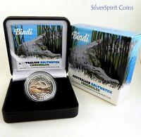 2013 SALTWATER CROCODILES BINDI Silver Proof Coin