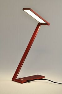 LED Augenschutz Schreibtischlampe 12W Rot 4000K Stufenlos Dimmen Memoryfunktion