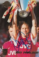ARSENAL HAND SIGNED RAY PARLOUR MERLIN GOLD 99 TRADING CARD.
