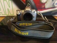 NIKON F55 35MM SLR FILM CAMERA BODY + STRAP WORKING