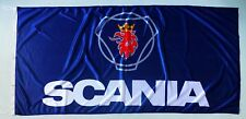 SCANIA FLAG BLUE - SIZE 150x75cm (5x2.5 ft) - BRAND NEW