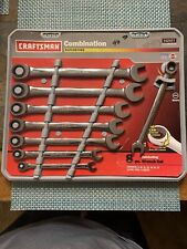 Craftsman MM Combination Ratcheting Wrench Set, made in USA 8 pcs - Part # 42451