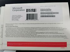 Microsoft Windows 10 64bit DVD Key DE German  1pk DSP OEI DVD Deutsche NEW