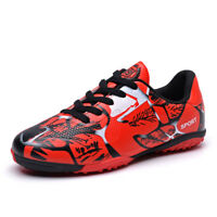 Fashion Men Kids Soccer Cleats Shoes Indoor Turf Soccer Sports Football Shoes