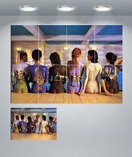 "Pink Floyd Iconic Image Ladies Painted Backs Large Wall Art Print  45"" x 31"""