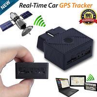 Car Vehicle Truck GPS Realtime Tracker Mini OBD II OBD2 Tracking Device GSM GPRS