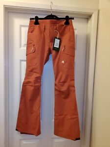 Burton Gloria Womens Snowboard Ski Pants Tandori Red NEW NWT Size XS