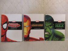 Incredible Hulk Iron Man Spider-Man An Origin Story Marvel HC Hardcover Books NM
