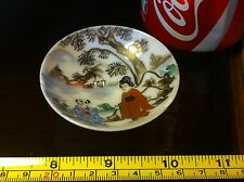 Porcelain Chinese Small Bowl Ornament with Damage