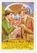 Reproducción antigua publicidad RODRIGUEZ Y BERGER S.A.