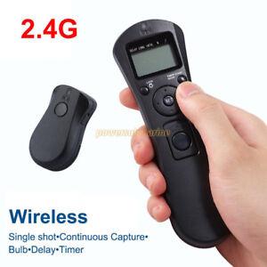 Wireless Timer Remote Control For Sony A7 A7R A7II A7RII A6300 A6000 A5100 A5000