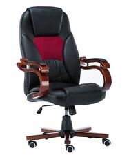 FoxHunter Computer Executive Office Chair PU Leather Swivel High Back Oc02 Blac1
