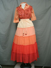 Civil War Dress Women's Victorian Costume Edwardian Reenactment Western Prairie