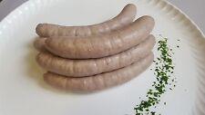 (12,49€/kg) 10 große Wildschwein Bratwurst / Rostbratwurst ohne Zusatzstoffe